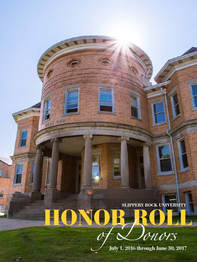 Honor roll of donors magazine cover